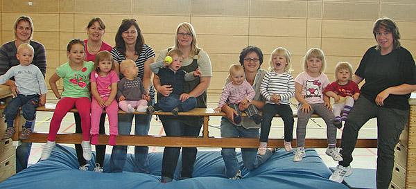 Eltern-Kind-Gruppe 2012