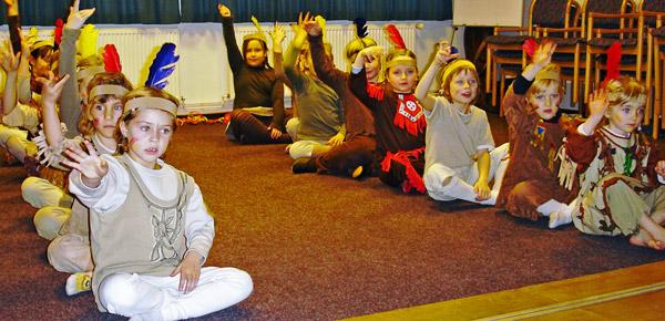 Kindertanzen und Akrobatik2