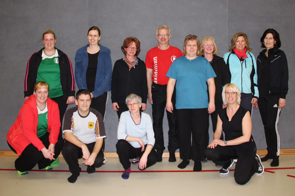 Pilates-Gruppe