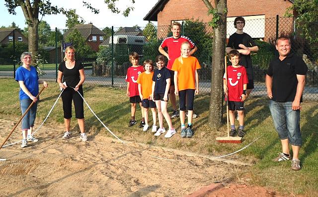 Sportabzeichen Juli 2011